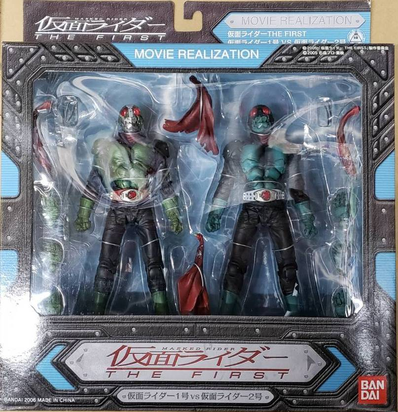 MOVIE REALIZATION 仮面ライダー1號?2號(仮面ライダーTHE FIRST) 新品未開封 即決 數量6
