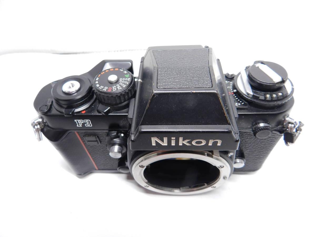 NIKON ニコン/一眼レフカメラ/F3 アイレベル ボディ/MF フィルムカメラ/完動品/管Y0105_画像4