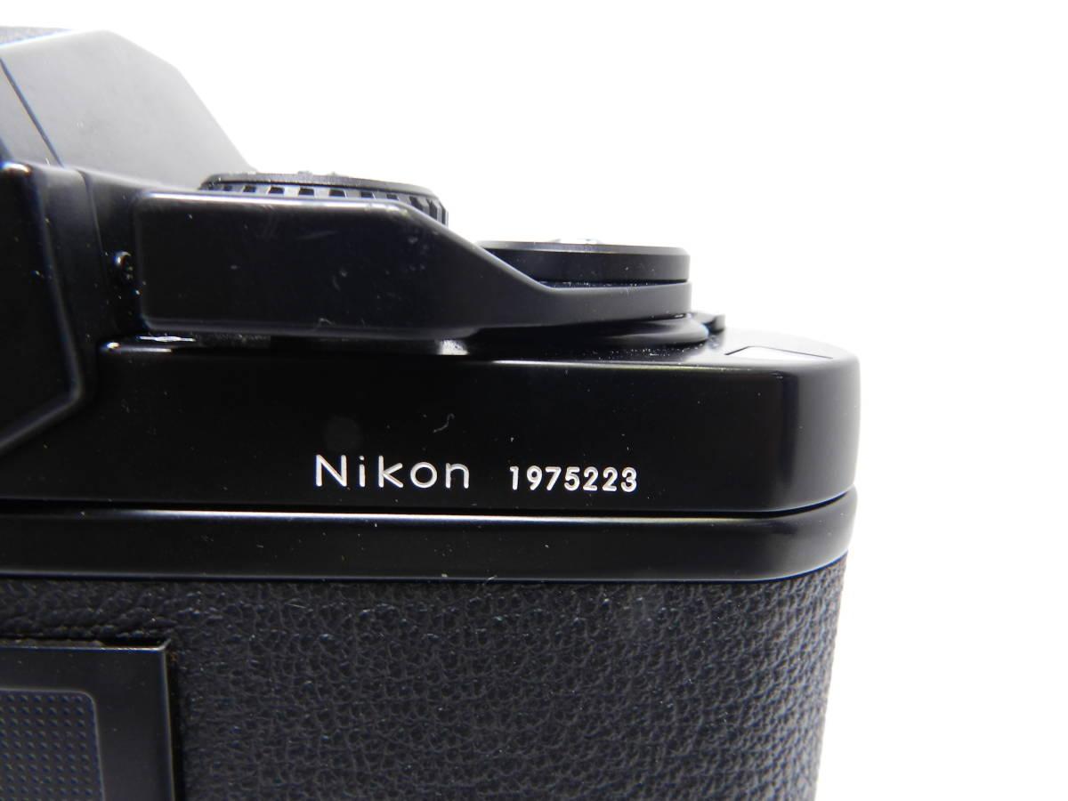 NIKON ニコン/一眼レフカメラ/F3 アイレベル ボディ/MF フィルムカメラ/完動品/管Y0105_画像6