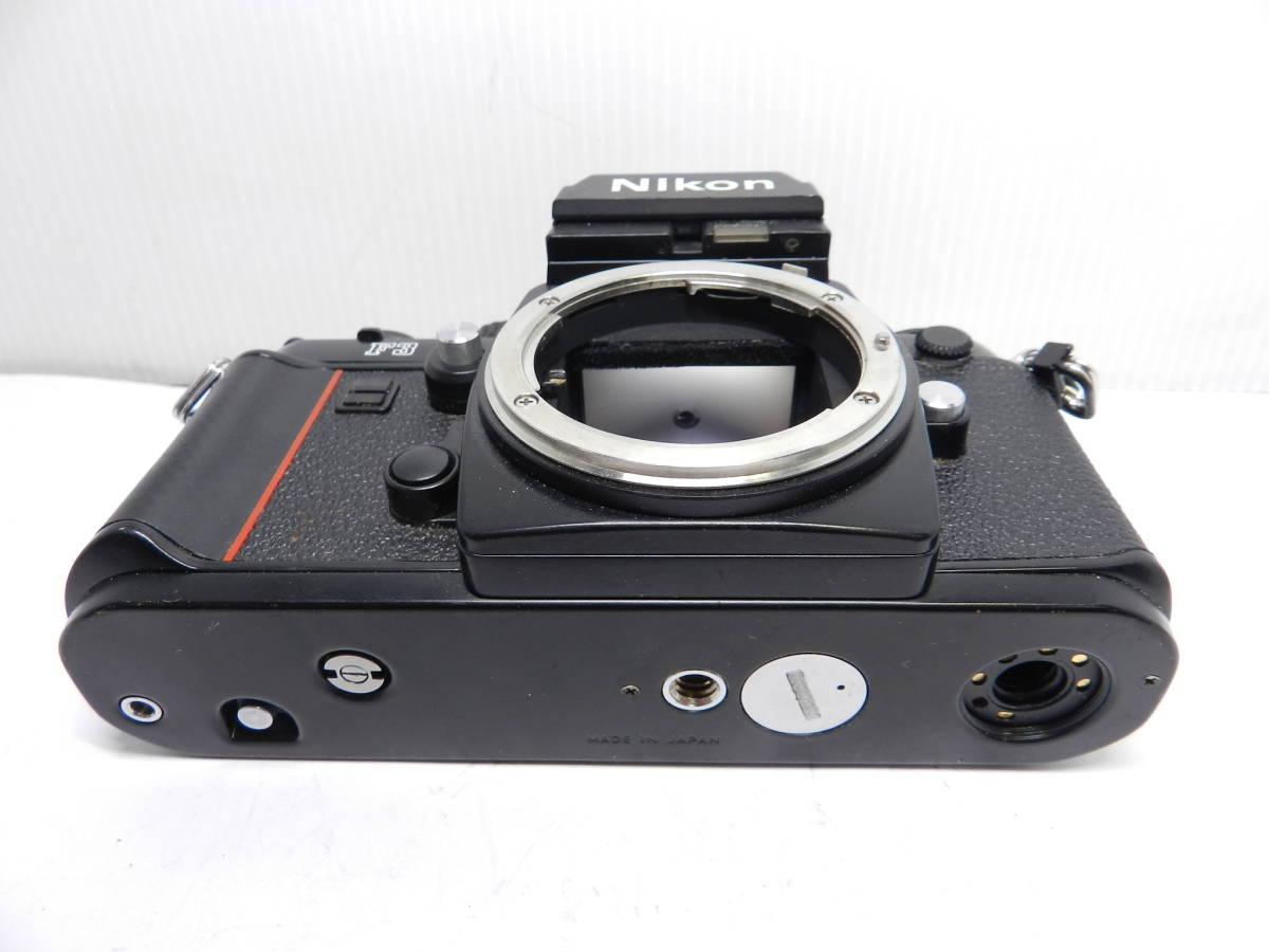 NIKON ニコン/一眼レフカメラ/F3 アイレベル ボディ/MF フィルムカメラ/完動品/管Y0105_画像3