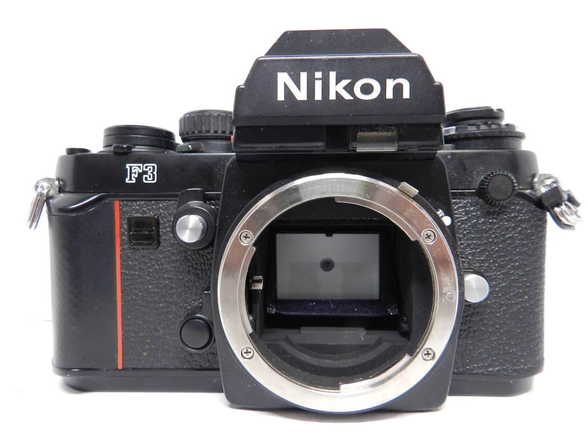 NIKON ニコン/一眼レフカメラ/F3 アイレベル ボディ/MF フィルムカメラ/完動品/管Y0105