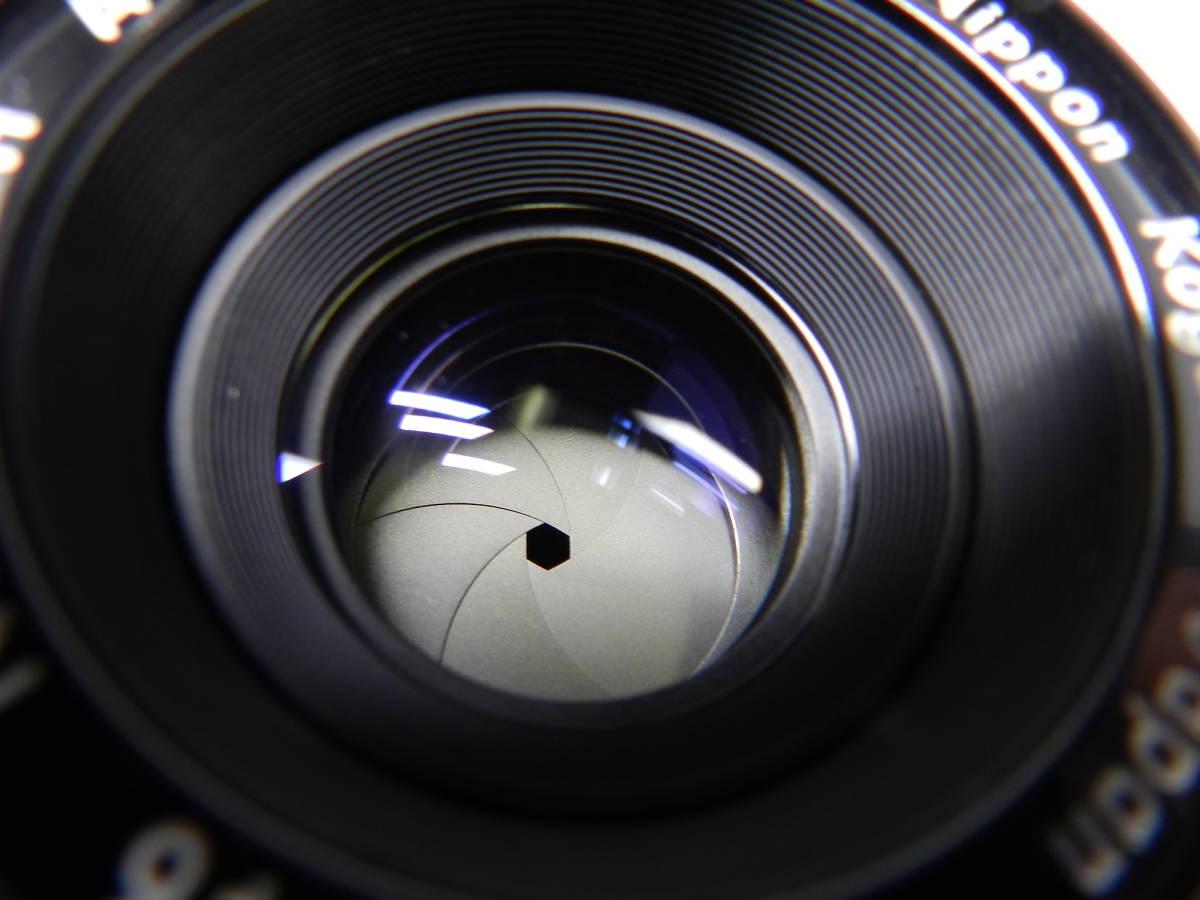 NIKON ニコン/一眼レフカメラ/初代 F アイレベル/レンズ NIKKOR-H Auto 50mm f2/MF 単焦点/動作品/フィルムカメラ/ケース 取説付属/管Y0133_画像7