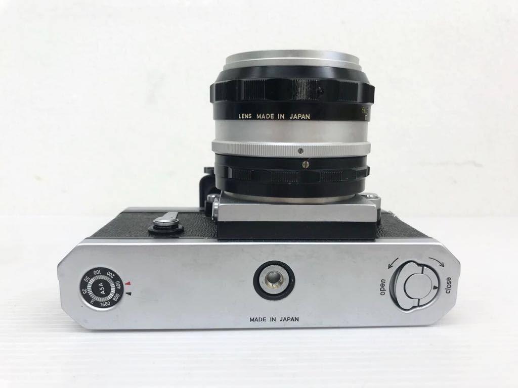 h011902☆ニコン F Nikon 2台セット ジャンク扱い F 6983484(レンズ有り) F 7280646(レンズ付き)_画像10