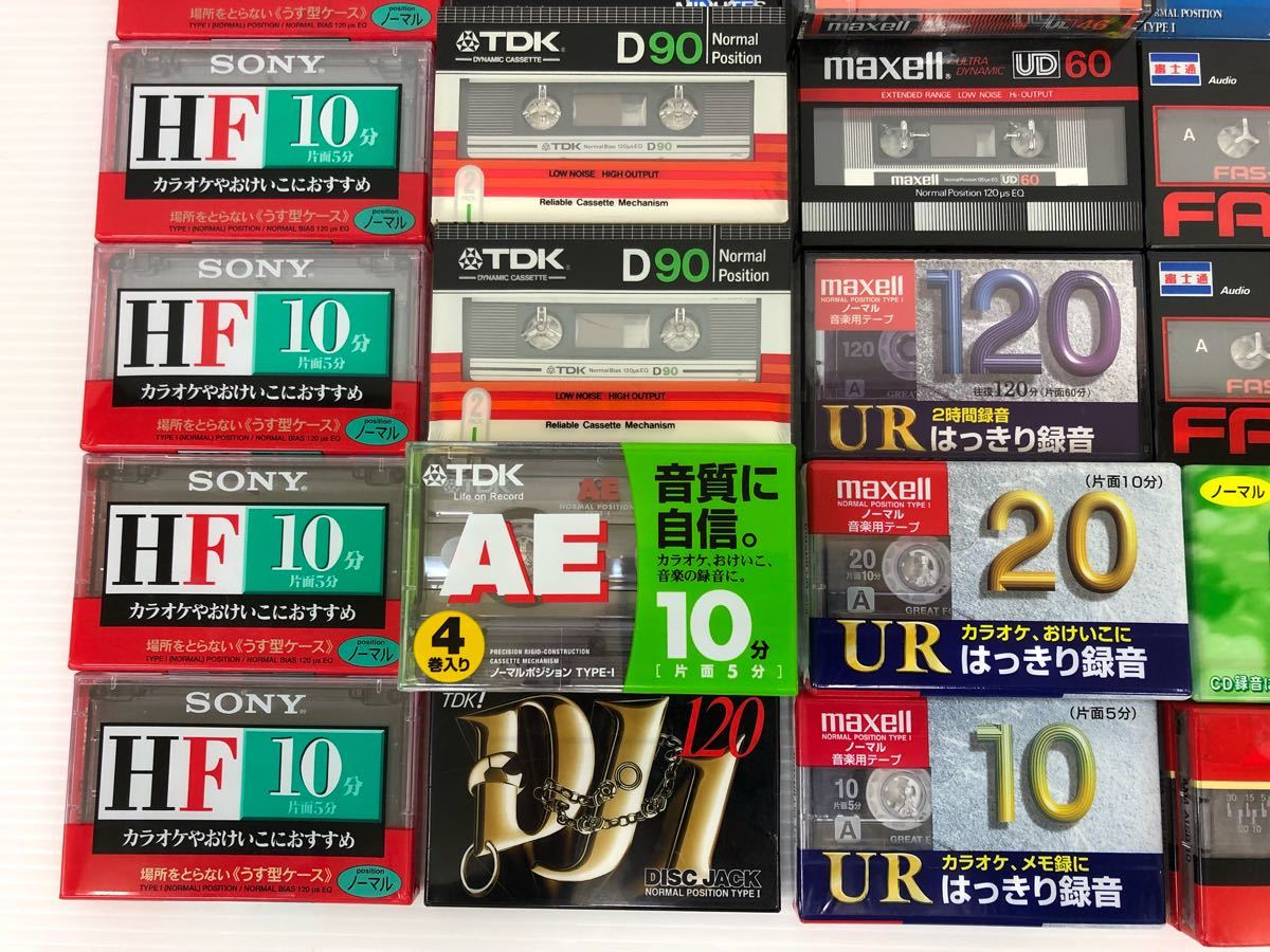 """f0106003【 неиспользованный товар  】 кассета  лента   SONY TDK maxell AXIA etc 6 3 штуки  комплект    товар в состоянии """"как есть"""""""