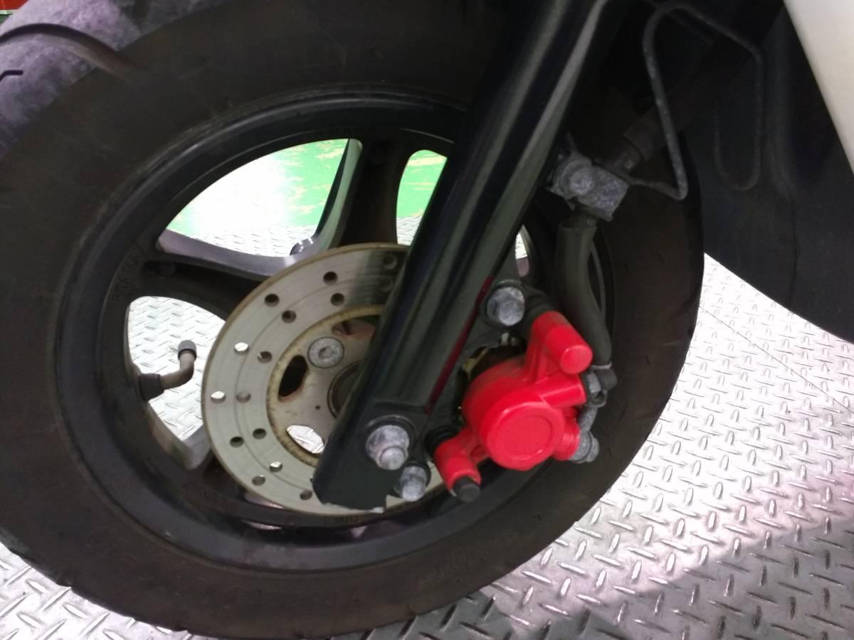 ZR YAMAHA ヤマハ 50cc 原付スクーター _画像9
