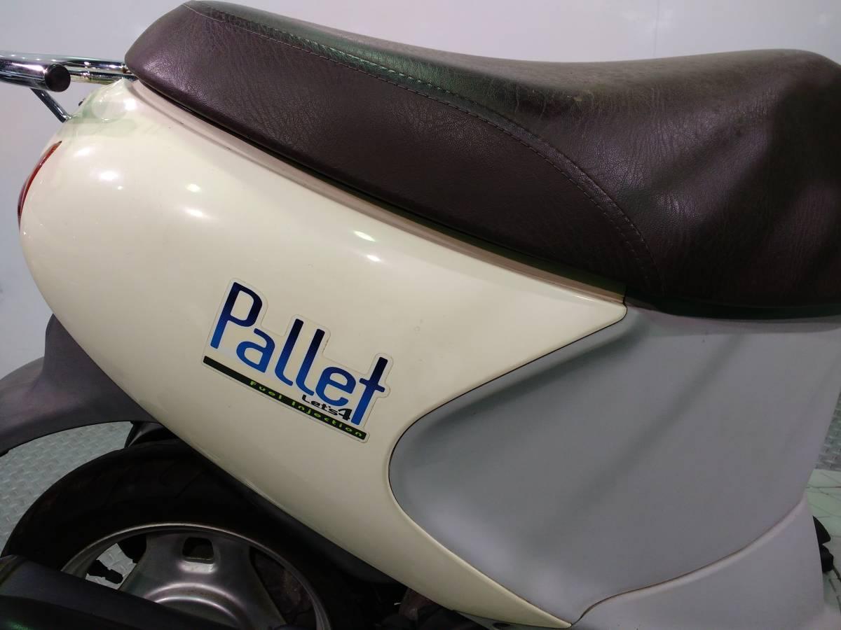 レッツ4パレット Let`s4Pallet スズキ SUZUKI 50cc 原付 スクーター CA45A_画像2