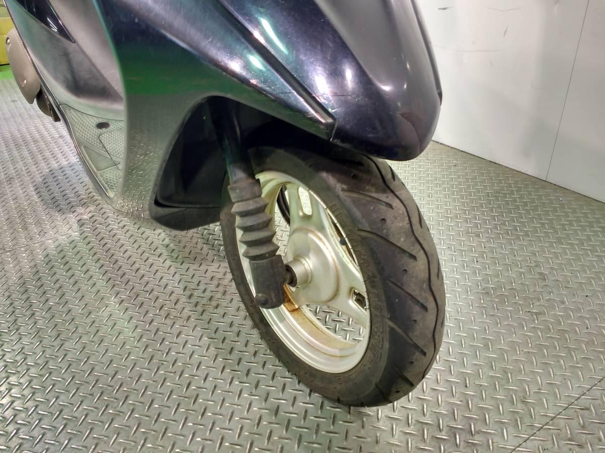 アドレスV50 スズキ SUZUKI 50cc 原付スクーター フロントスクリーン リアボックス付き 高年式 _画像5