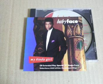 CDS■Babyface/My Kinda Girl(8tracks)■The Deele/Pebbles/New Jack Swing