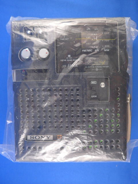 SONY Skysensor5500 ソニー スカイセンサー5500 ICF-5500A 未使用品_画像5