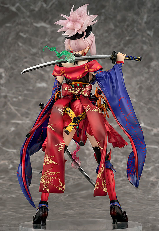 Fate/Grand Order セイバー/宮本武蔵 1/7スケール 完成品フィギュア [ファット・カンパニー]_画像4