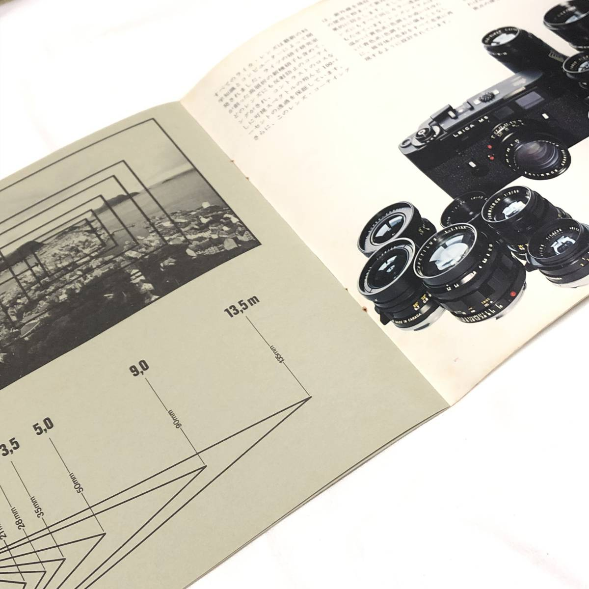 ◆ライカ LEICA ライツ Leitz カメラ レンズ カタログ M3 M5 elmar summicron summilux _画像4