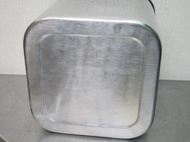 27cm 深型 角キッチンポット (手付) 角型キッチンポット 未使用品 YUKIWA_画像6