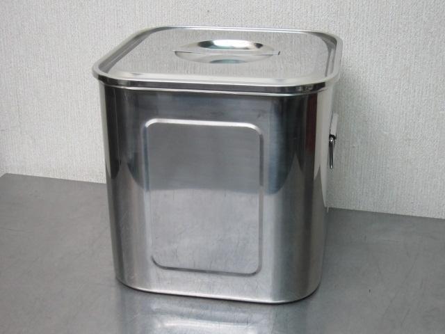 27cm 深型 角キッチンポット (手付) 角型キッチンポット 未使用品 YUKIWA_画像2