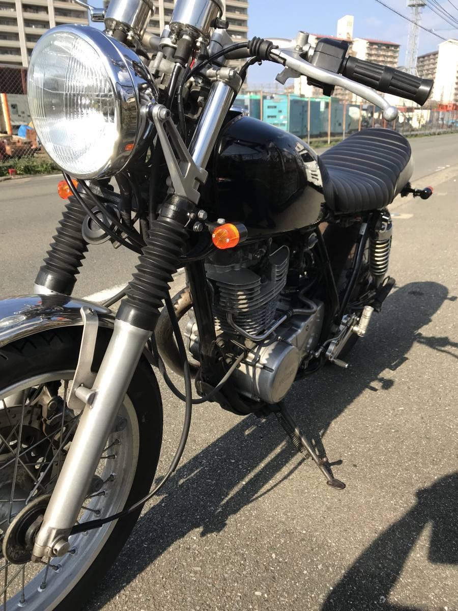 SR400-3 カスタム多数 綺麗なバイクです。_画像6