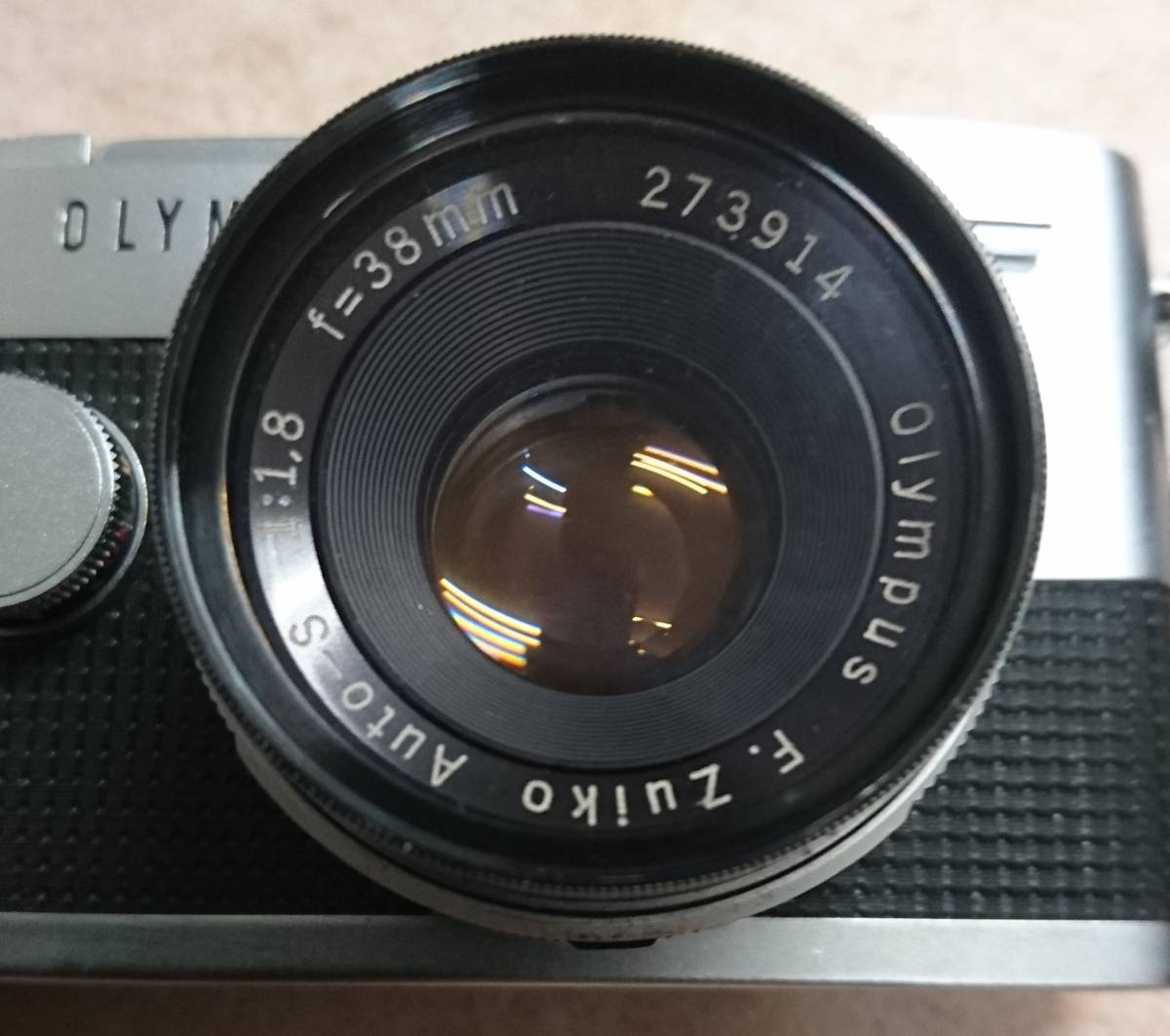 ◇ OLYMPUS-PEN F オリンパス ペン F.Zuiko Auto-S 1:1.8 f=38mm ジャンク ◇_画像9