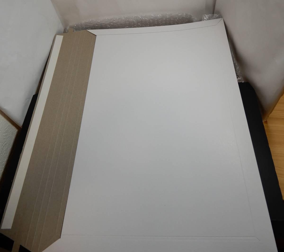即決可☆シン☆ゼノブレイド2☆A3クリアポスター☆ニンテンドーストア限定☆Switch☆Xenoblade2_厚紙のA3レターケース2枚で挟み梱包します