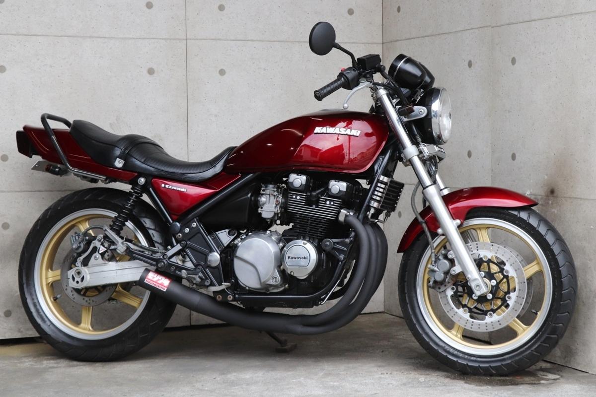 横浜~ Kawasaki ゼファー400 C6 旧車 ルミナスビンテージレッド 10235キロ 綺麗 好調