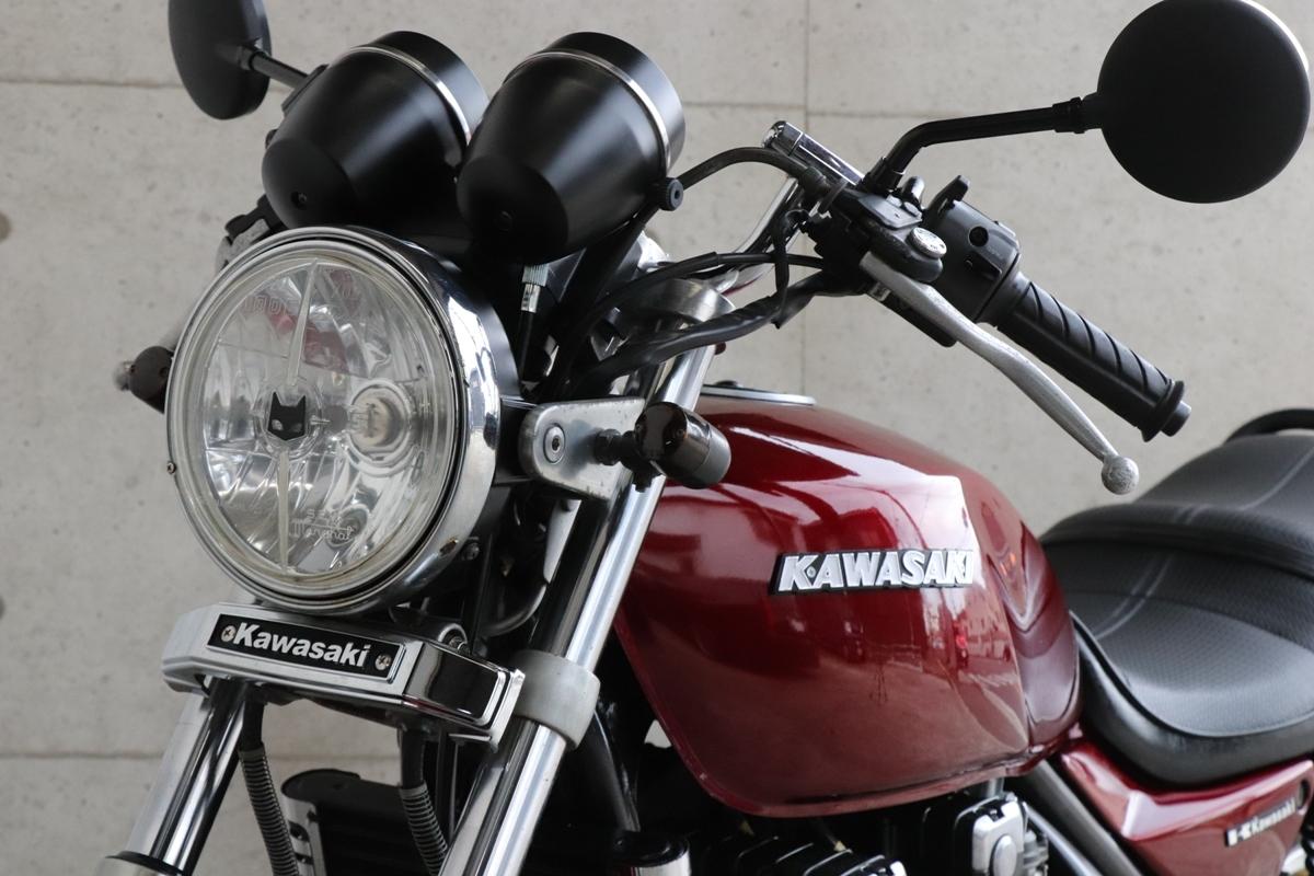 横浜~ Kawasaki ゼファー400 C6 旧車 ルミナスビンテージレッド 10235キロ 綺麗 好調_画像9