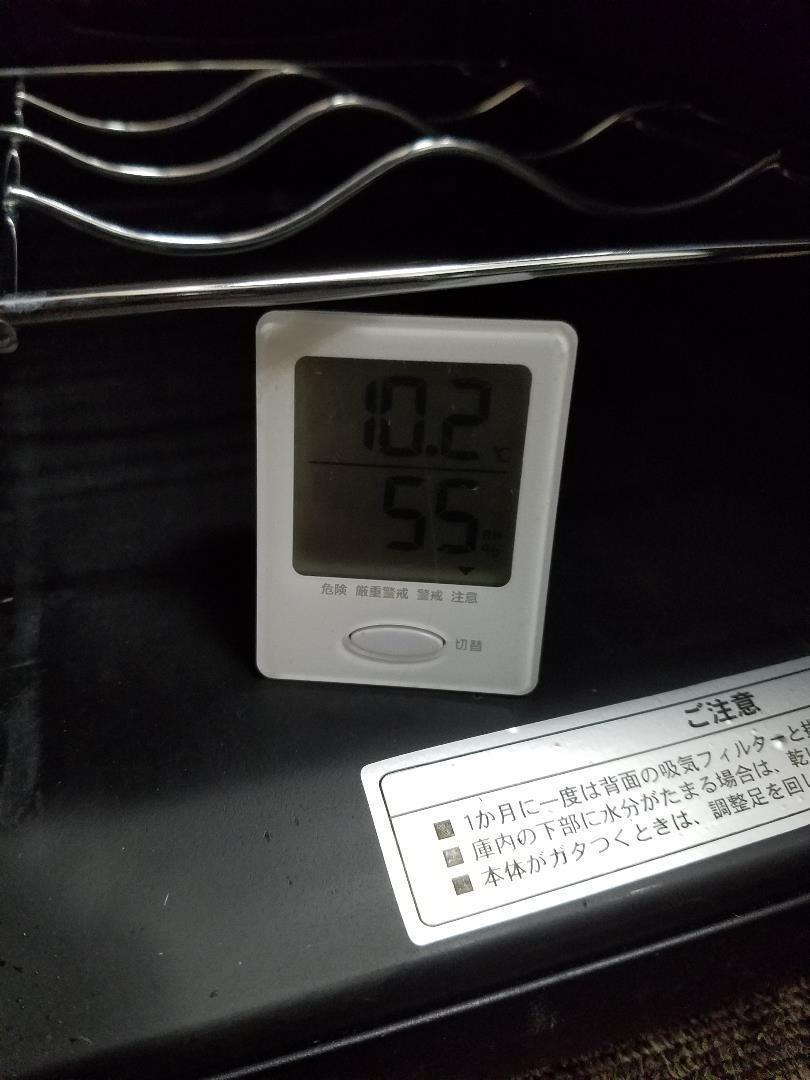 T☆620 デバイスタイル CD-18 電子式ワインセラー 右開き 18本収納_画像6