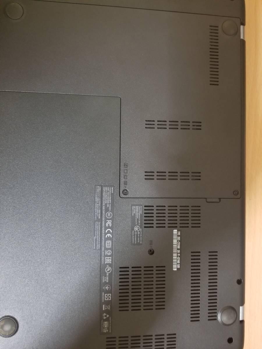 【動作品】lenovo Thinkpad E450 Core i7-5500U 2.4GHz/8GB/500GB/Wi-Fi Win 10 Home 64bit(ジャンク扱い)_画像3