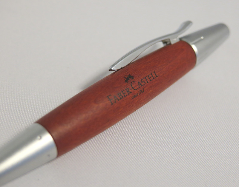 ファーバーカステル FABER CASTELL ボールペン エモーション 148382か148330? 木製パーツ_画像2