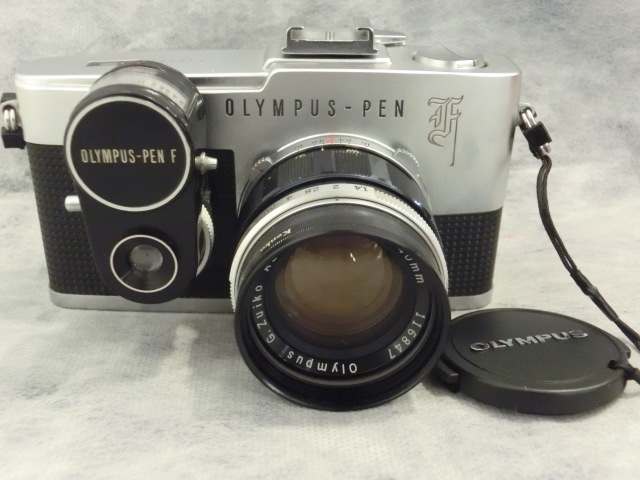 オリンパス OLYMPUS-PEN F G.Zuiko Auto-s 1:1.4 f=40mmジャンク