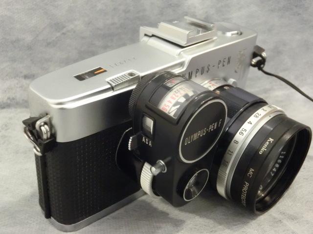 オリンパス OLYMPUS-PEN F G.Zuiko Auto-s 1:1.4 f=40mmジャンク_画像3