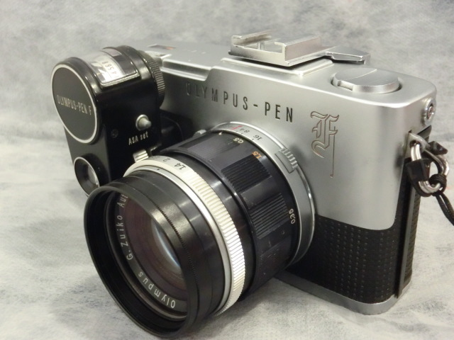 オリンパス OLYMPUS-PEN F G.Zuiko Auto-s 1:1.4 f=40mmジャンク_画像4