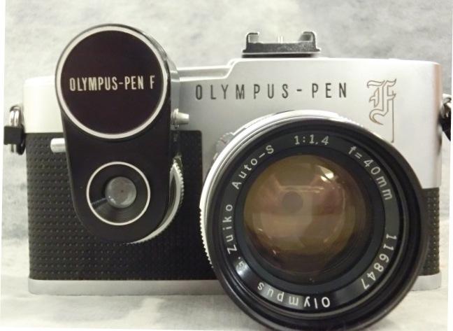 オリンパス OLYMPUS-PEN F G.Zuiko Auto-s 1:1.4 f=40mmジャンク_画像2