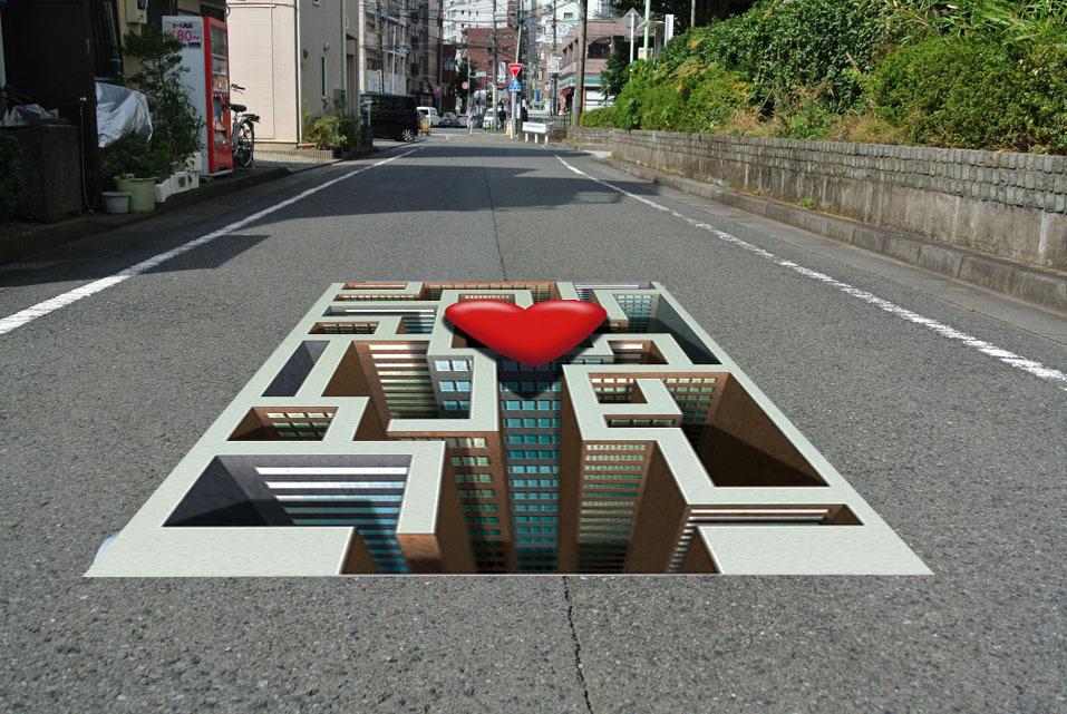 床に敷くだけ簡単設置 3Dストリートアート_画像8