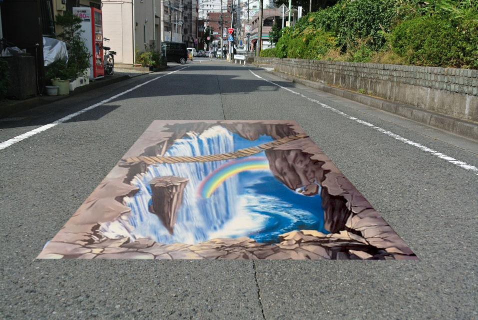 床に敷くだけ簡単設置 3Dストリートアート_画像7