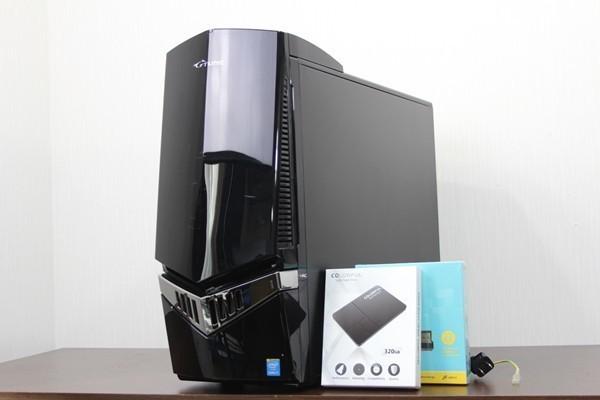 究極/GTUNE★I7 5820X新品爆速SSD320GB★GTX980★同新2TB/DDR4/16GB/X99-S01/水冷/ブルー