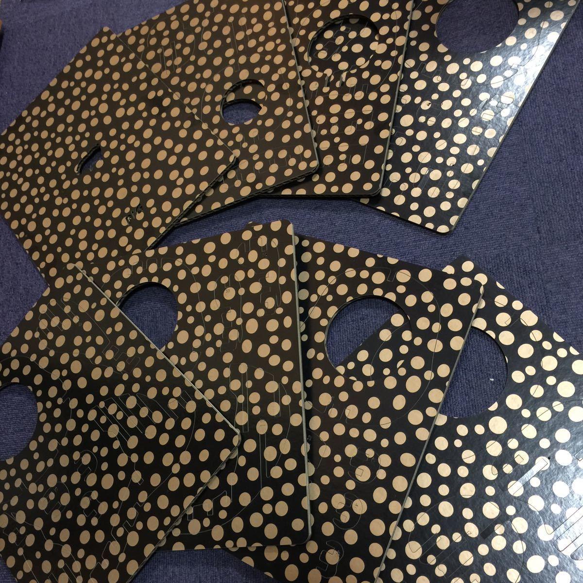 d-torso(ディー・トルソー)「豚段」PIG353 段ボール素材ペーパークラフト 未組立長期保管品 日本製 アキ工作社 希少終売品 黒 レーザー加工_画像4