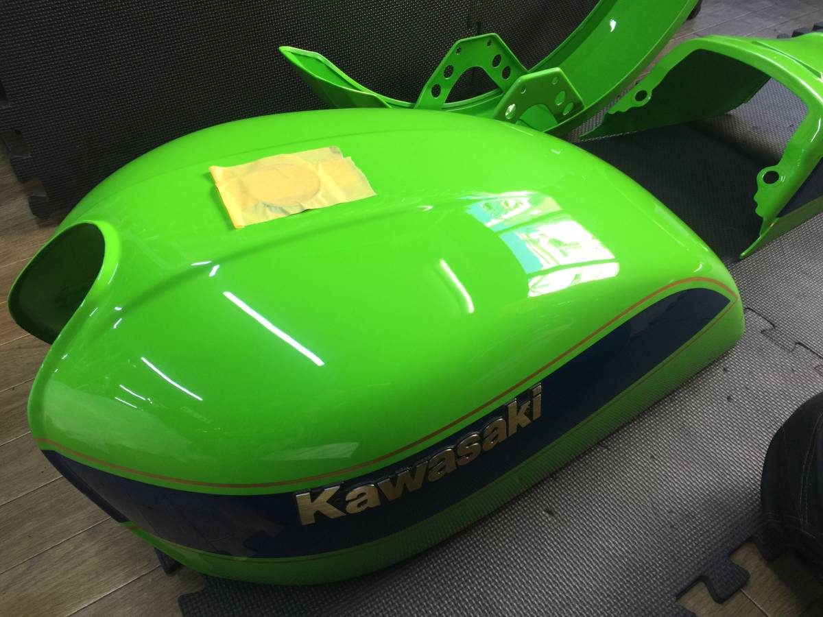 KZ1000J2 リペイント済み外装セット カワサキワークス仕様_画像3