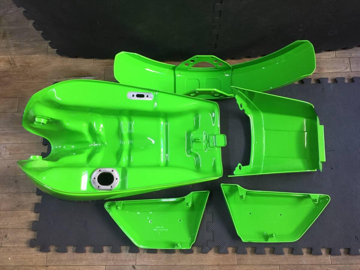KZ1000J2 リペイント済み外装セット カワサキワークス仕様_画像2
