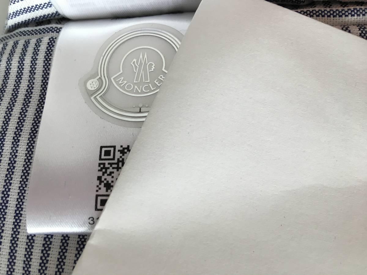 新品 本物 モンクレール ガムブルー ウール 100% ダウン ジャケット 4 MONCLER GAMME BLEU ネイビー ゴールド 金ボタン 迷彩 コート_画像9