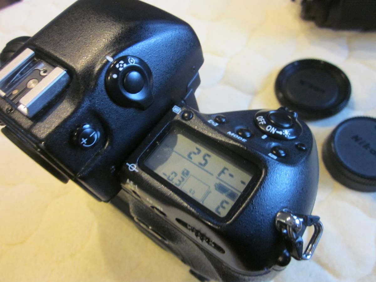 Nikon ニコン F5 + AF NIKKOR 80-200mm F2.8フィルムカメラ _画像3