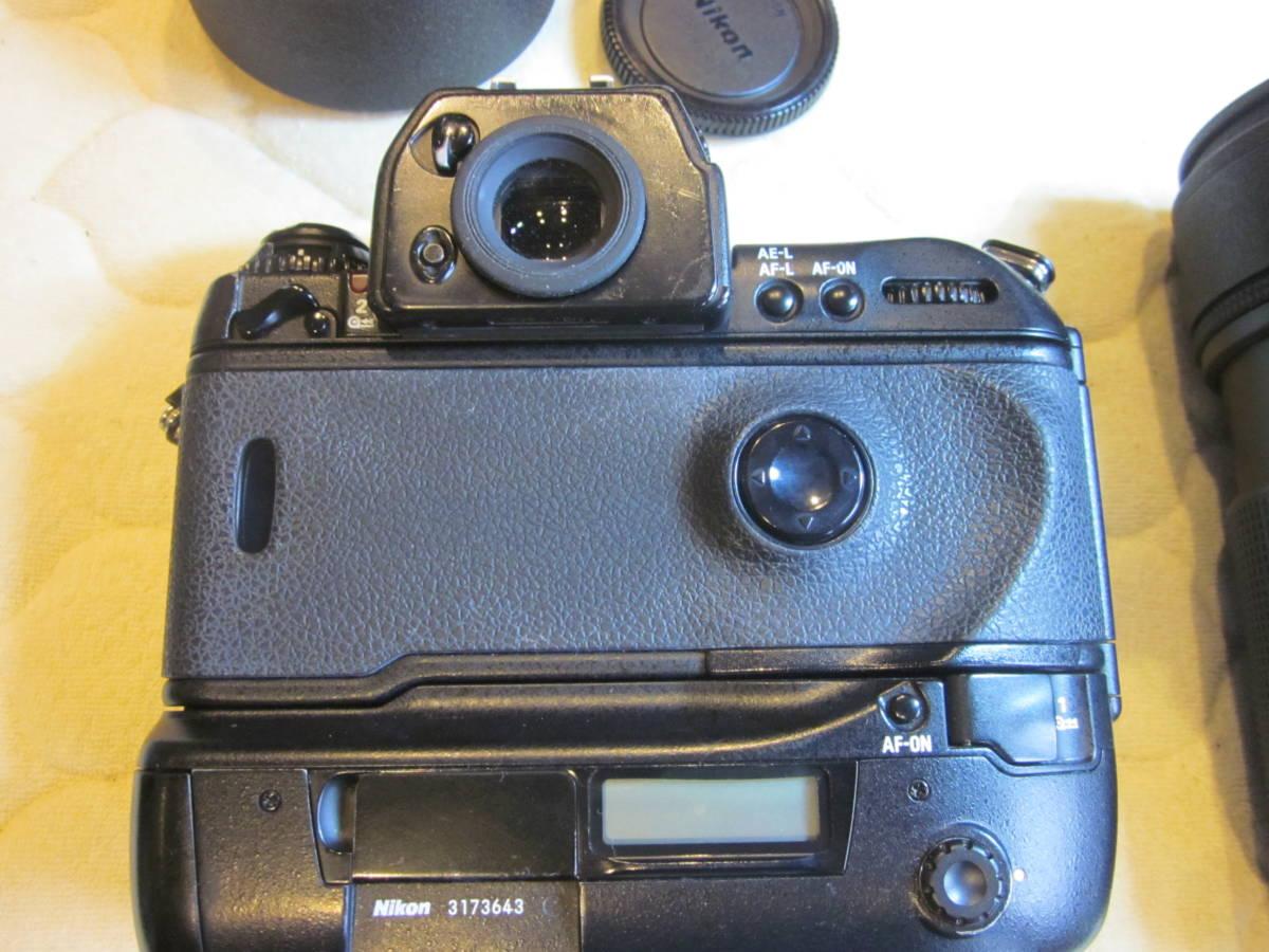 Nikon ニコン F5 + AF NIKKOR 80-200mm F2.8フィルムカメラ _画像4