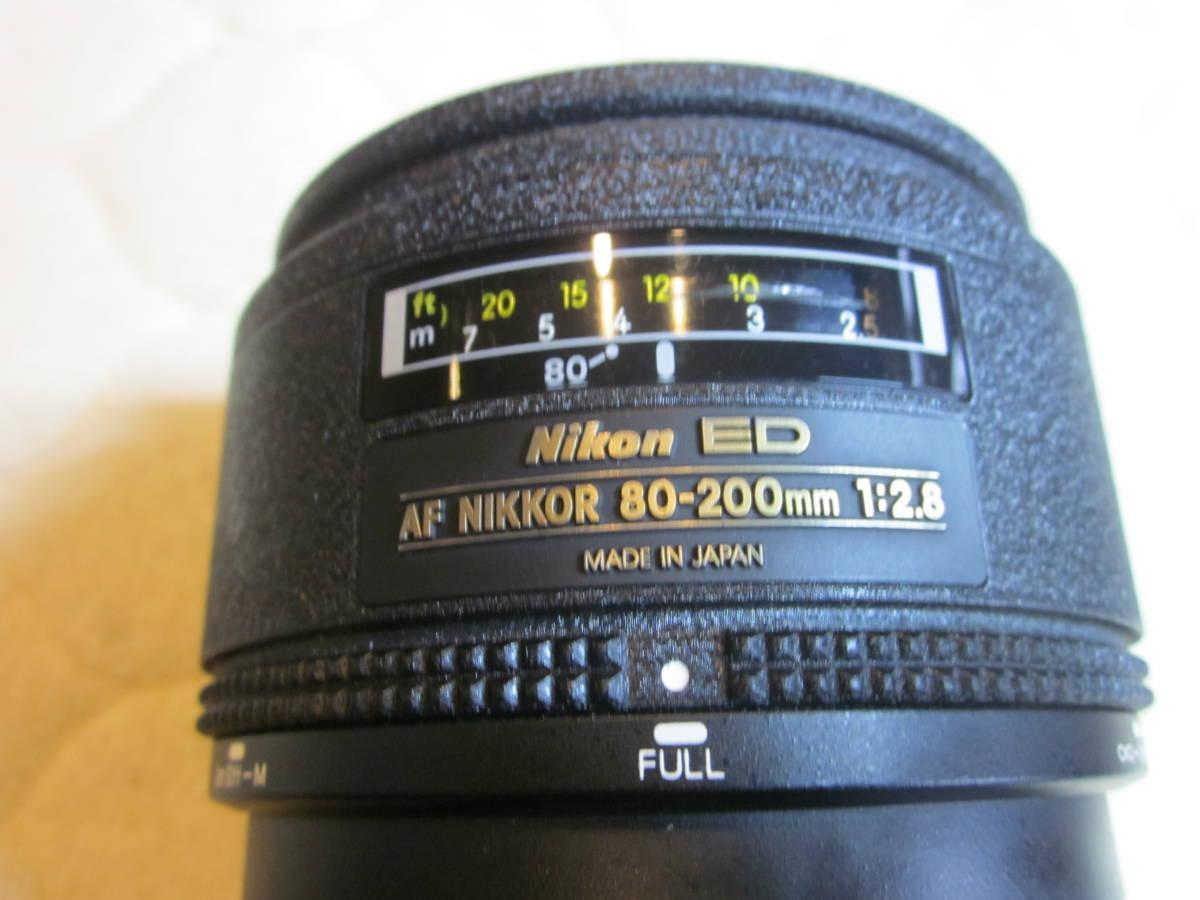 Nikon ニコン F5 + AF NIKKOR 80-200mm F2.8フィルムカメラ _画像8