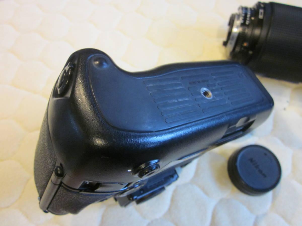 Nikon ニコン F5 + AF NIKKOR 80-200mm F2.8フィルムカメラ _画像9