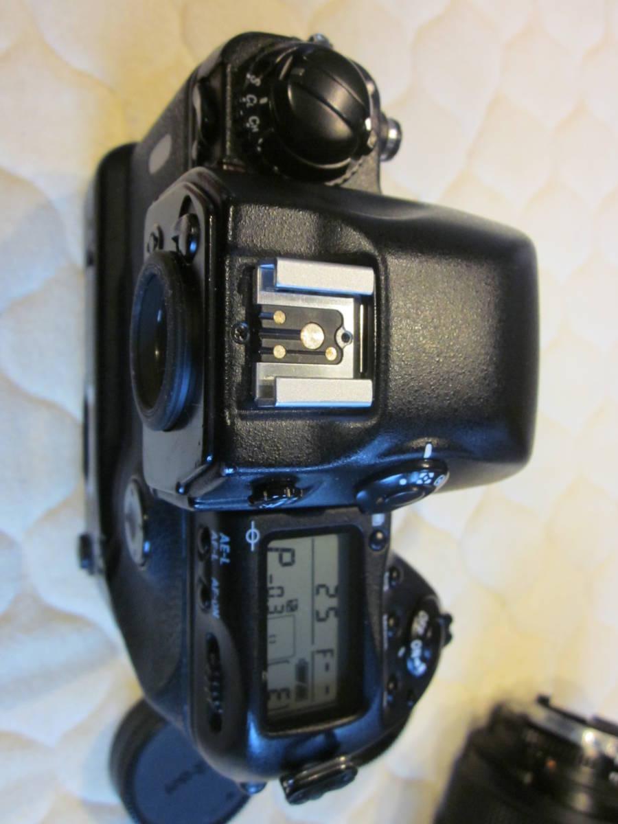 Nikon ニコン F5 + AF NIKKOR 80-200mm F2.8フィルムカメラ _画像2