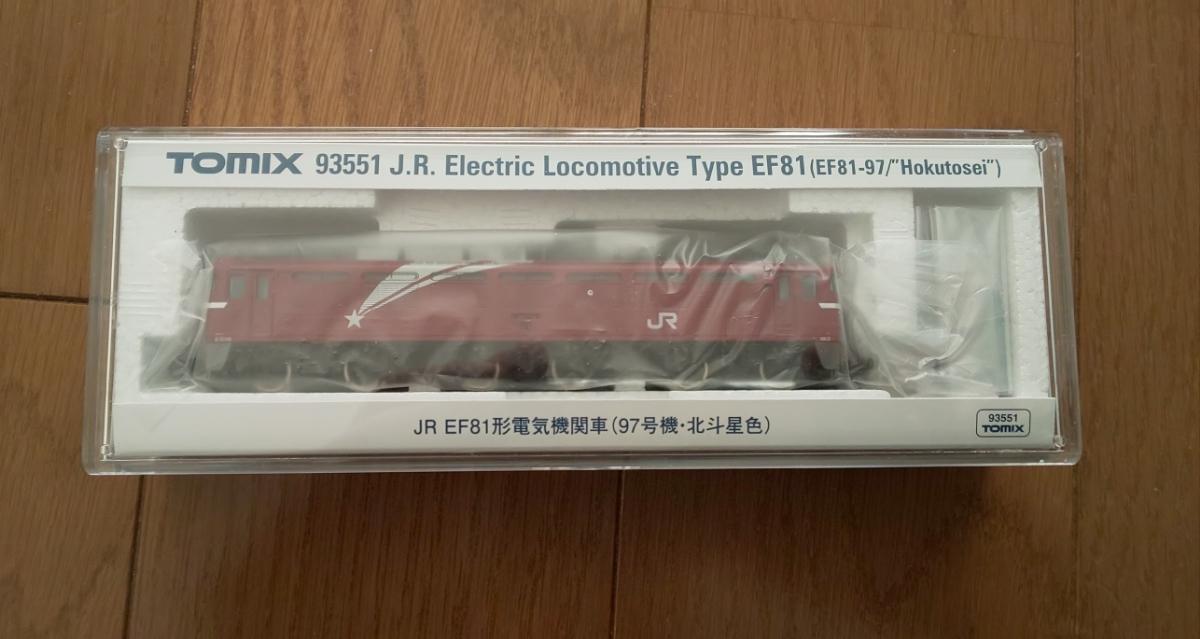 トミックス EF81 北斗星 トミックスワールド限定品