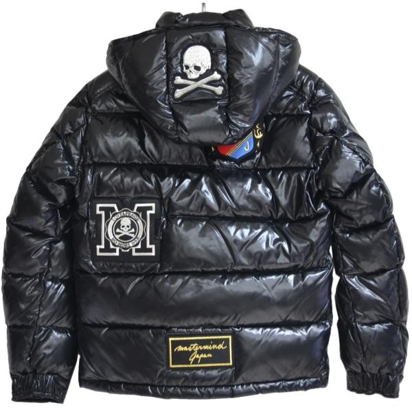 新品 青山限定 MONCLER モンクレール × MASTERMIND マスターマインド MAYA ワッペン ダウンジャケット R2-247710 ☆