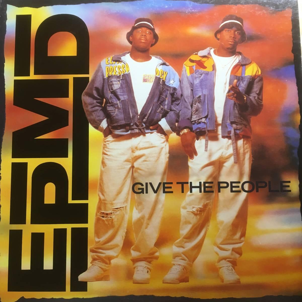 2点落札送料無料 EPMD Give The People O'Jays「Give The People What They Want」ESG「U.F.O.」_画像1