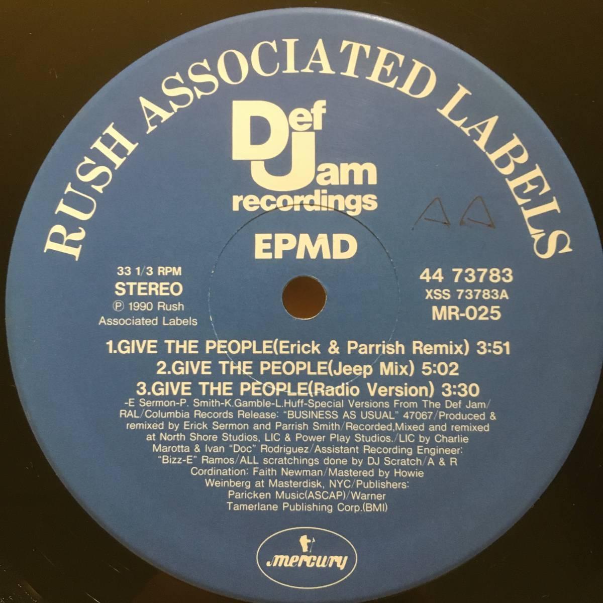 2点落札送料無料 EPMD Give The People O'Jays「Give The People What They Want」ESG「U.F.O.」_画像4