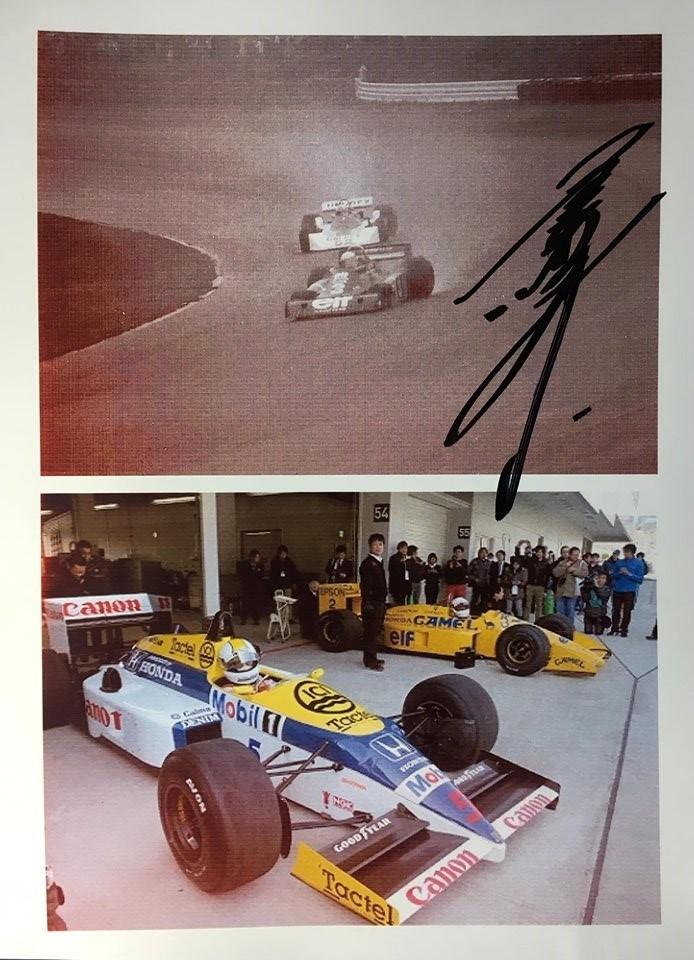 上はシェクターを追う1976F1日本GP。
