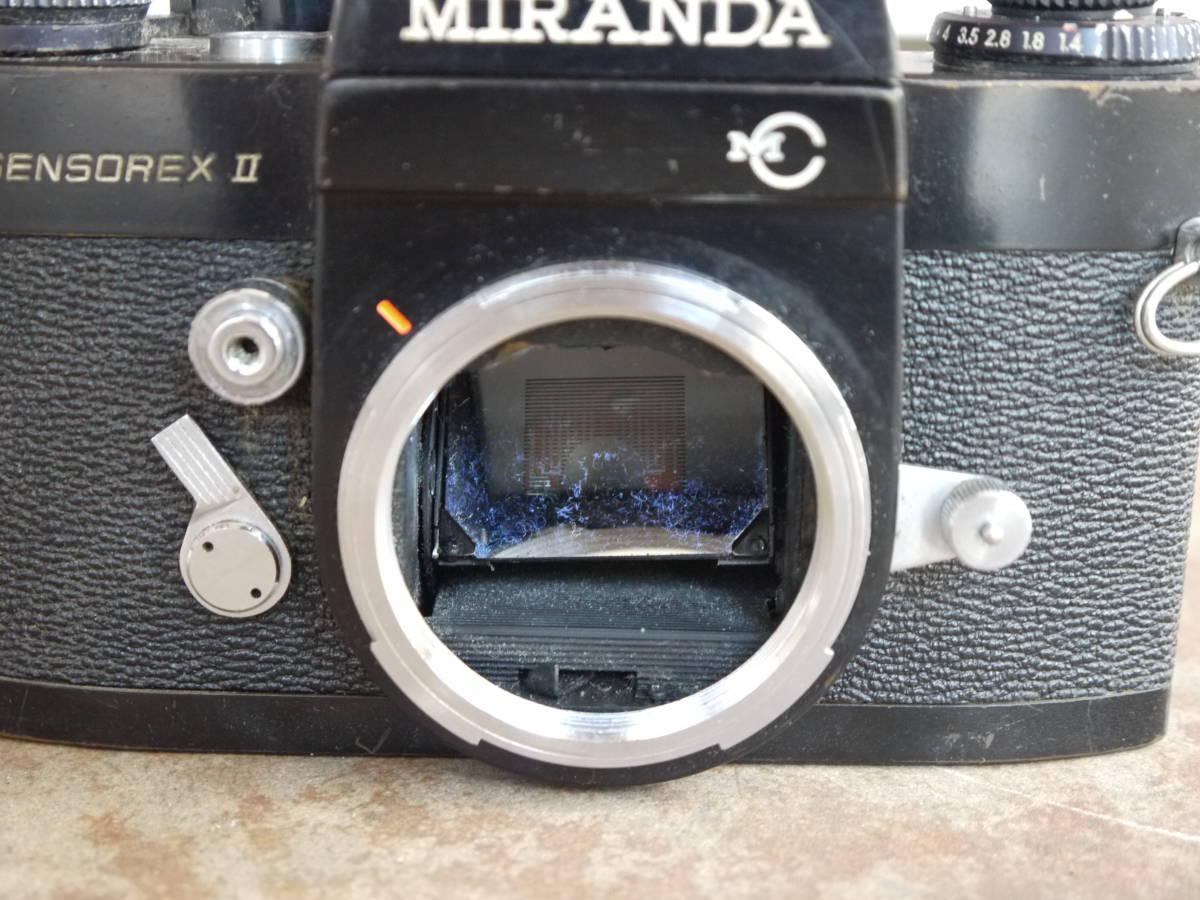 希少 ミランダ センソレックスⅡ MIRANDA SENSOREXⅡ ブラックボディ レア 現状品_画像4