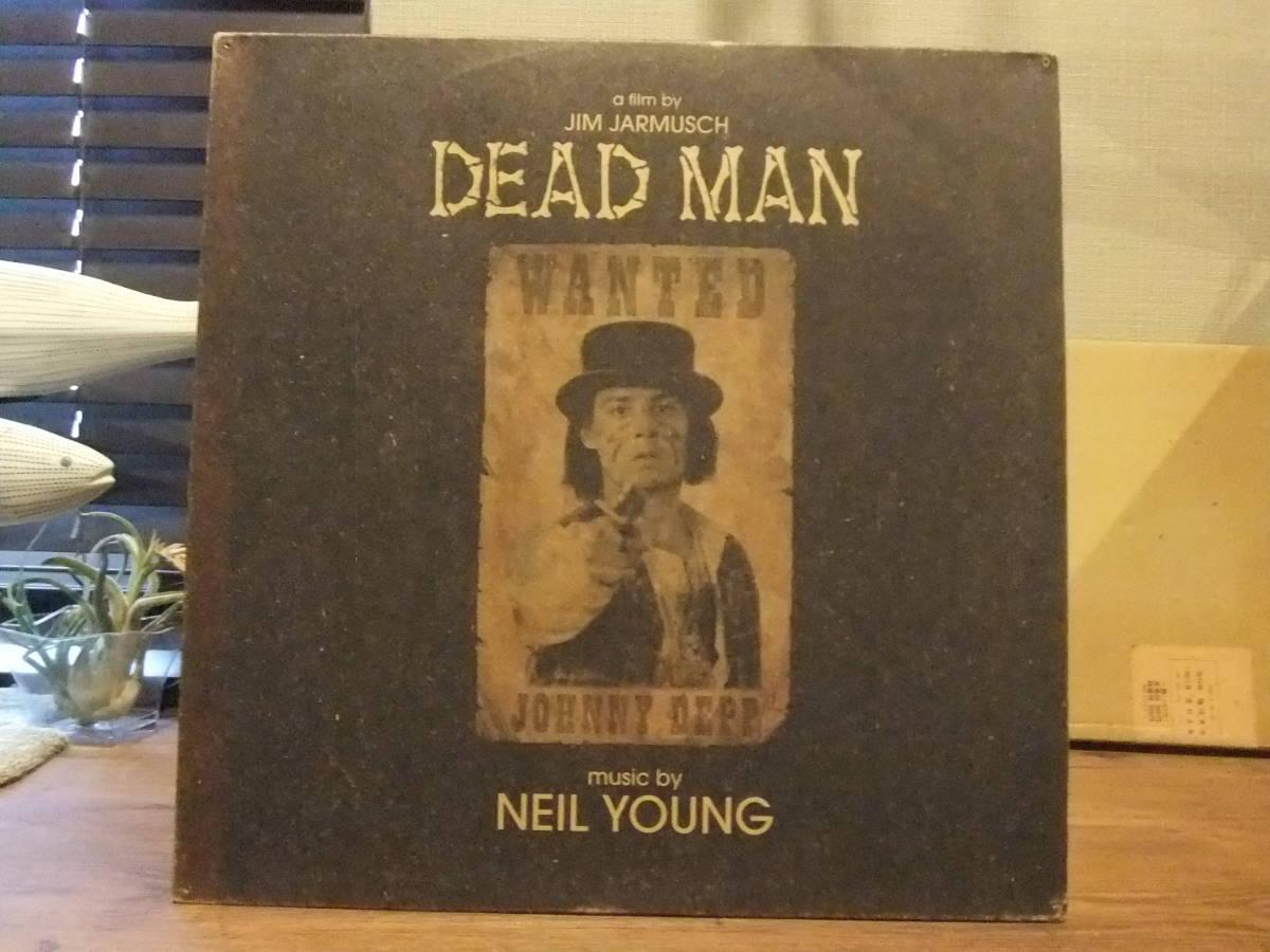 ニール・ヤング[Neil Young/Dead Man]米オリジナル盤! Jim Jarmusch ジム・ジャームッシュ監督「デッドマン」オリジナル・サウンドトラック_画像1