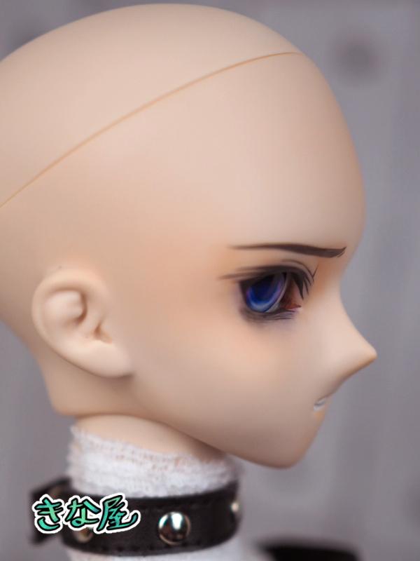 【きな屋】DDH-05 カスタムヘッド (ノーマル肌)+アイ ※ソフビ盛り/難有_画像8