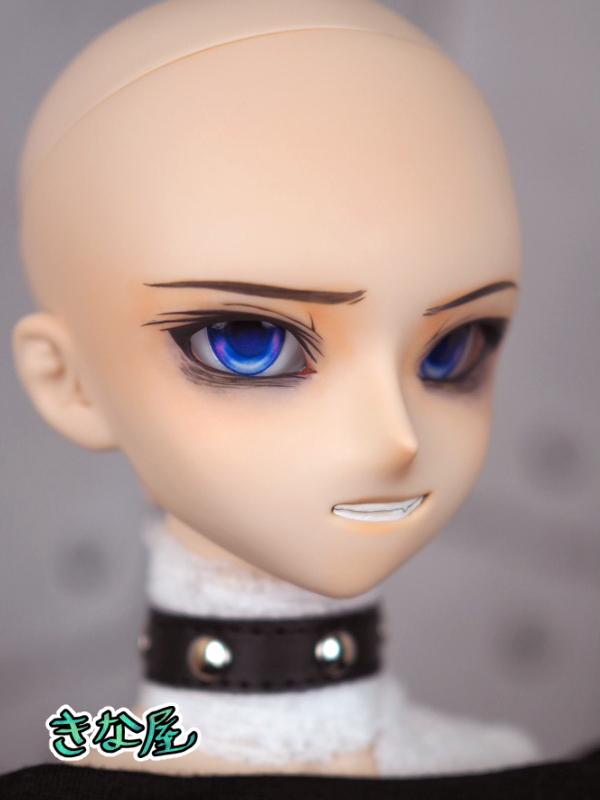 【きな屋】DDH-05 カスタムヘッド (ノーマル肌)+アイ ※ソフビ盛り/難有_画像9
